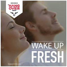 Wake up fresh with #hangovershotz For more details, visit hangovershotz.com