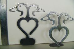 Wedding cake topper ducks with heart in by bluemountaincrafts..this is the one baby!