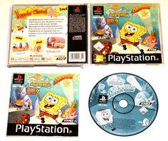 Playstation 1 SpongeBob SquarePants: Supersponge für Ps1 in OVP!