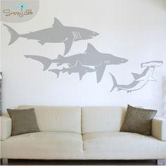 Shark Tote | Tote | Shark, Pillows and Room