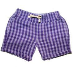 Faded Glory Girls' Pull Shorts, Size: 4/5, Purple