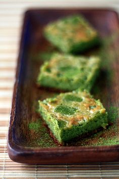 my buttery fingers: Matcha Cheesecake
