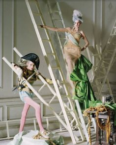 Christian Dior Haute Couture F/W 2005, 'Lady Grey' by Tim Walker for Vogue Italia Couture Supplement