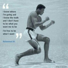 Muhammad Ali | Life begins at the end of your comfort zone. | Scoop.it