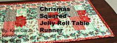 Christmas Table Runner Squared « Moda Bake Shop