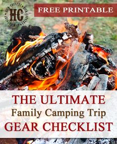 The Ultimate Family Camping Trip Essential Gear Checklist