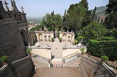 Latium, Tivoli, Villa d'Este,