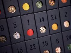 Advent Calendar Diy, Christmas Calendar, Countdown Calendar, Christmas Time, Merry Christmas, Christmas Gifts, Advent Calendars, Drink Table, Essie