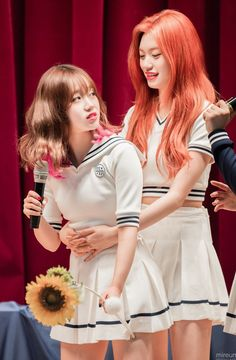 Kpop Girl Groups, Korean Girl Groups, S Girls, Kpop Girls, Butterflies In My Stomach, Jung Chaeyeon, Choi Yoojung, Kim Sejeong, Cute Japanese Girl