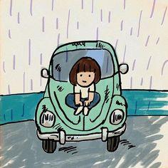 雨のウェンズデイ