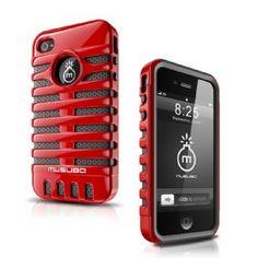 Musubo Retro Series Case Apple iPhone 4s/4 - RedMusubo
