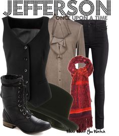Inspired by Sebastian Stan as Jefferson/Mad Hatter on Once Upon a Time.