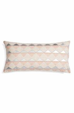 Nordstrom at Home Embroidered Triangle Accent Pillow
