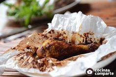 """Estos mixiotes estilo Puebla son tradicionales de la cocina poblana y están para """"chuparse los dedos""""."""