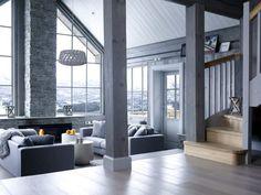 Une maison dans la neige en Norvège | PLANETE DECO a homes world | Bloglovin'