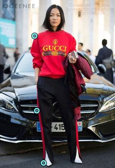 Womens upscale chic street style fashion outfit inspiration #Streetwear #Womensfashion #Highfashion #fashioninspiration #Chic Come shop the hottest in-season looks on the #Geenee app | From high fashion, streetwear, minimalist, and all other fashion trends