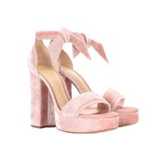 Pink Velvet, Pretty In Pink, Sandals, Shoes, Free, Fashion, Shopping, Heels, Moda