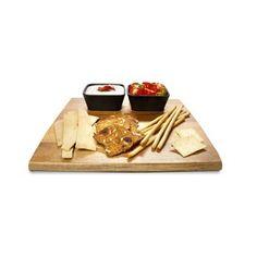Acacia Platter with Bowls - Set of 3