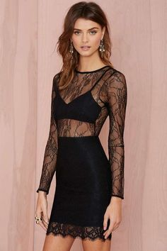 Lovers and Friends Catwalk Lace Dress | Shop Clothes at Nasty Gal