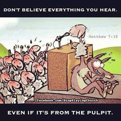 """Question: """"What does it mean to test the spirits?""""   Answer: """"Beloved, do not believe every spirit, but test the spirits to see whether they are from God, for many false prophets have gone out into the world"""" (I John 4:1)."""