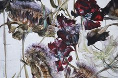 Claire BASLER - Contemporary Artist - Flowers - 099