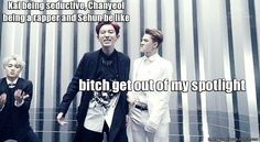 kekeke this macros is EPIC~ until i spot Sehun's face~! its so cussing EPIC~!! keke~