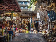 Χρώματα στην Άθωνος... Θεσσαλονίκη, Thessaloniki Zorba The Greek, Thessaloniki, Macedonia, Greece Travel, Day Trip, Shops, Street View, City, World