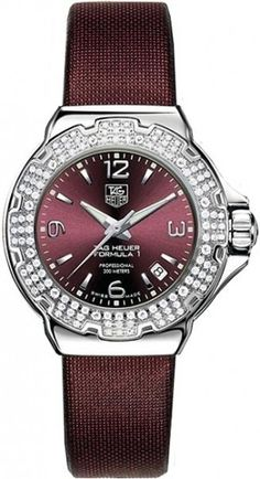 WAC1219.BC0848 TAG HEUER FORMULA 1 WOMENS QUARTZ WATCH IN STOCK - Click to View Mother's Day Luxury Watch Sales Event    Store Display Model  (What's This
