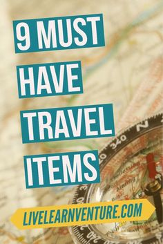 9 Must Have Travel Items! #travel #travelproducts #traveltips #vacation #vacationplanning #travelblog