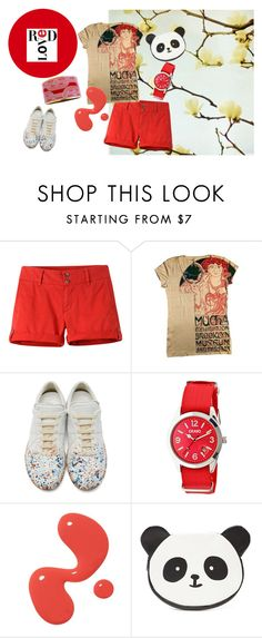 """Panda Style!"" by yizzam on Polyvore featuring Mountain Khakis, 1921, Maison Margiela, Crayo, Forever 21, Hermès, Spring, ootd and SpringStyle"