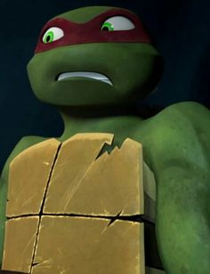 Raph, lol his face! I love him