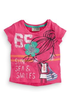 Buy Appliqué T-Shirt (3mths-6yrs) from the Next UK online shop