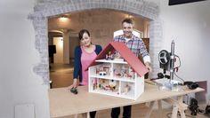 Puppenhaus für Kinder bauen, Anleitung