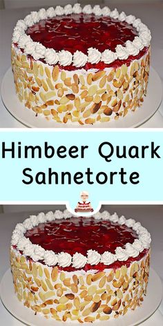 German Cheese, Mary Recipe, Cake & Co, Dessert Sauces, Vanilla Cake, Cake Recipes, Cake Decorating, Cheesecake, Food And Drink