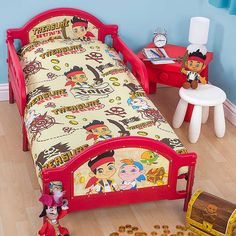 DIY Jake and the Neverland Pirates toddler bed/crib transformation ...