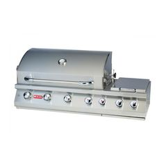 Bull Outdoor 7-Burner Premium Built-In Gas BBQ Grill | WoodlandDirect.com: Grilling: Grills, Bull Outdoor Products