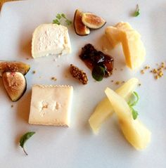 Flawless and Fabulous Fig and Cheese Plate