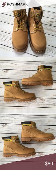 3506b4be NEW CATERPILLAR Work Boots NEW CATERPILLAR Work Boots. Never Worn. As is. In