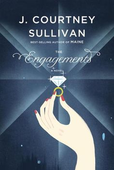 """The Engagements by J. Courtney Sullivan. A smart, engaging, and enjoyable book that examines the meaning of modern marriage traditions by interweaving several love stories with pieces of the life story of Frances Gerety, the advertising copywriter responsible for penning marriage's most famous tagline, """"A Diamond is Forever."""" Click through for full review. Via Diamonds in the Library."""