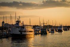Sundown at the Marina