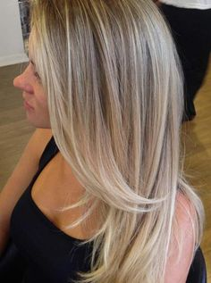 33 Blonde Balayage Hair Color Ideas with Brown