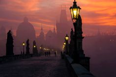 Dusk // Charles Bridge, Prauge, Czech Republic