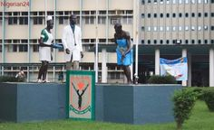 Health workers protest against poor welfare condition at LUTH