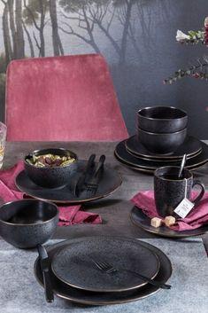 Organizing Your Home, Black Pattern, Shabby Chic Decor, Stoneware, Sweet Home, Stylus, Ceramics, Dishes, Interior Design