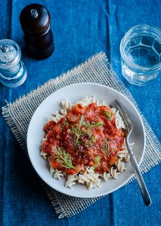 Slow-cooker Fennel-Tomato Sauce - very easy and very good