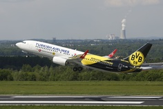 Turkish Airlines // BVB // Borussia Dortmund I need to fly in this airplane