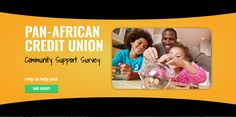 Business Takeout | PAN-AFRICAN CREDIT UNION COMMUNITY SUPPORT SURVEY Black Canadians, Take Surveys, Black Entrepreneurs, African Men, Diversity, Effort, Community, Education, Business