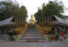 Stairs to Big Buddha in Pattaya, Thailand