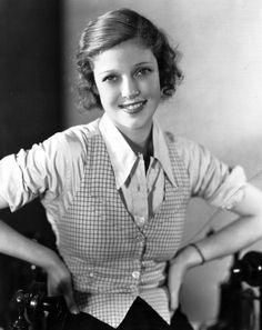 American actress Loretta Young circa 1935