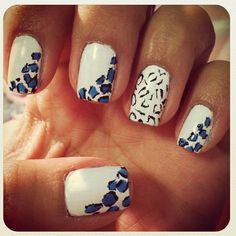 107 Animal Print Nails Art Decor